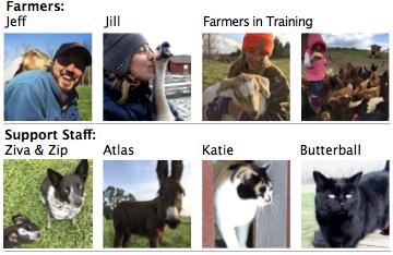 Darby Meadow Farm Team